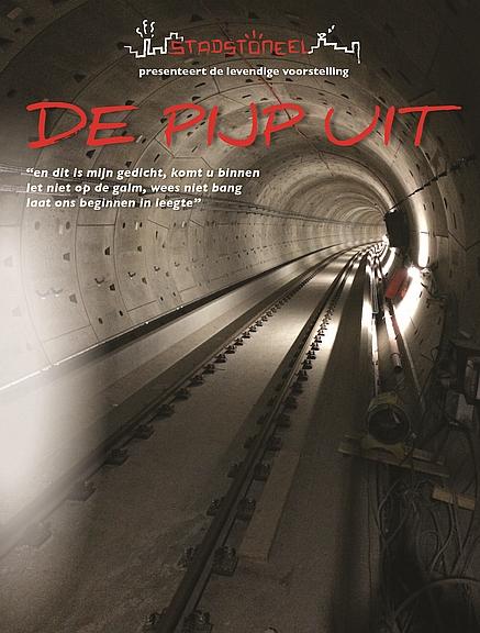 'De Pijp Uit', de nieuwbouwvoorstelling van 't Maaiveld (flyer)